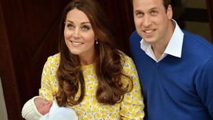 Nézze meg közelebbről az újszülött hercegnőt!