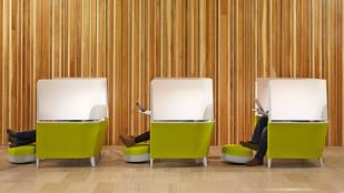 Egy légterű iroda helyett az odú iroda most a menő