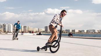 Ez történik, ha keresztezik a biciklit a gördeszkával