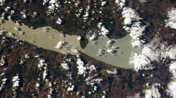 A Balatont is lefotózta az ISS űrhajósa
