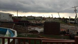 Kikészítette a tegnapi vihar? Nézze meg, mi volt Oklahomában!