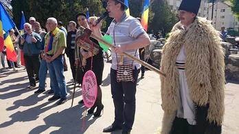 Az erdőkért tüntetnek Romániában