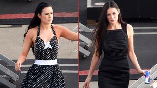 Marha nehéz eldönteni, hogy Demi Moore, vagy a lánya jobb csaj pillanatnyilag