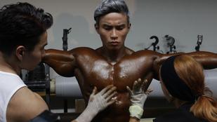 Meg fog feküdni a koreai testépítőkön