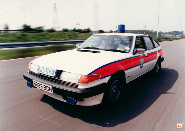 West Midlands Police Rover SD 1 Traffic Car c.1985