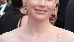 Osvárt Andrea Cannes-ban is a legszebbek közé került