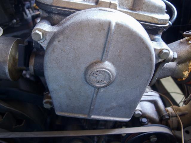 Skoda embléma az öntvényben, de Skodában aligha sokan láttak ilyen motort