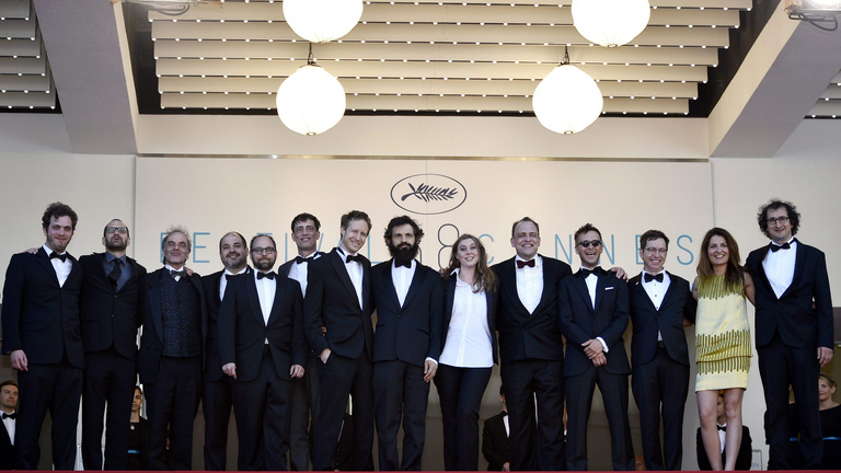 Saul fia: Így mutatták be Cannes-ban, interjú a rendezővel és a főszereplővel