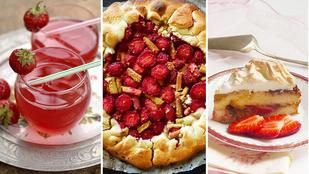 Rengeteg kihagyhatatlan epres recept