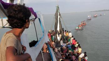 Kiköthetnek a menekültek bárkái Indonéziában és Malajziában