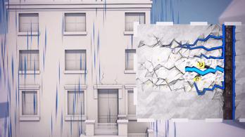Baktériumok gyógyítják a jövő betonját