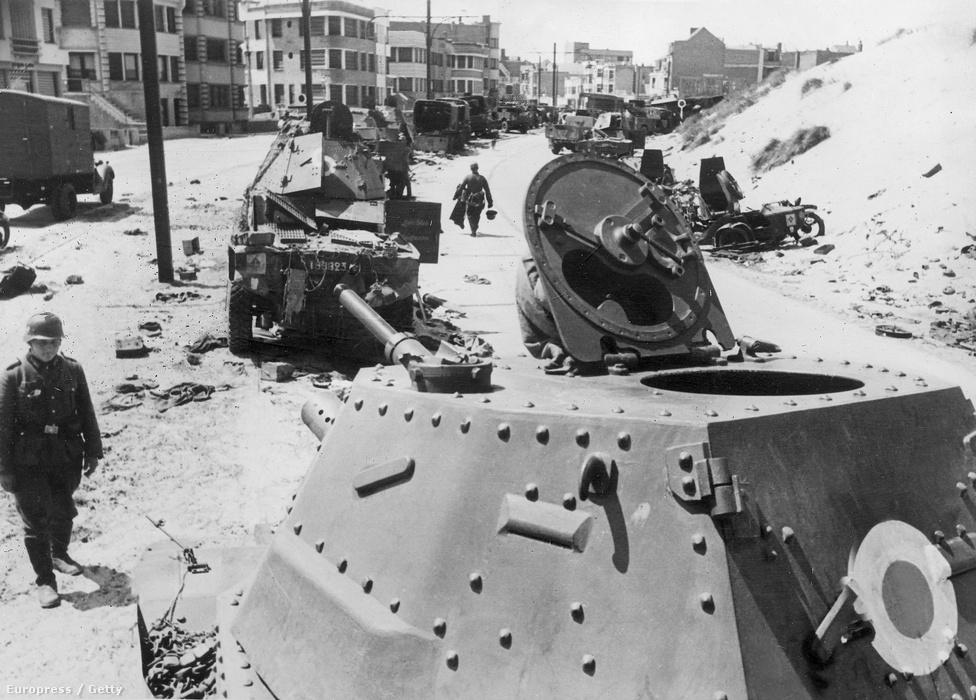 Természetesen a 445 harckocsiból egyet sem tudtak hazavinni, de a németek sem szakítottak túl nagyot a zsákmánnyal: sem a nevetséges tűzerejú Vickers, sem a lomha Matilda harckocsik nem vették fel a versenyt a legújabb német modellekkel.