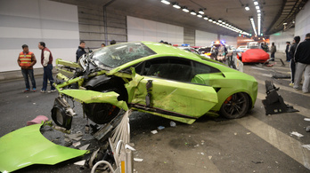 5 hónap börtönt kapott a Lamborghinit összetörő kínai Halálos iramban-rajongó