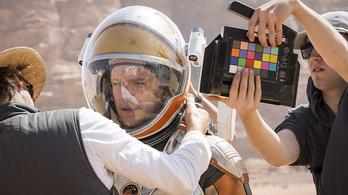 Így fest a Marson ragadt Matt Damon