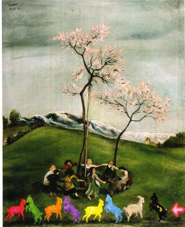 A tavasz méltatása