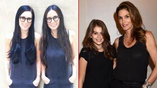 Anyák és lányaik, akik tök ugyanúgy néznek ki