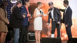 Fluor Tomi törött lábujjakkal is felkúszott a Fonogram színpadára