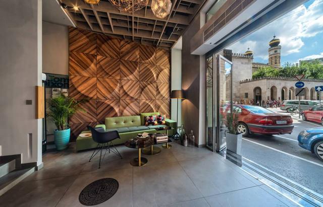 Így néz ki a Wesselényi utcai Solinfo Café belső tere.