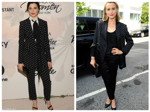 Azt már Cannes-ban is láttuk, hogy a celebnők újra rákaptak a kosztümökre, és úgy tűnik, kedvenc mintájuk is van már: ez pedig a pöttyös.