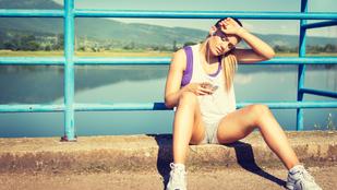 Kánikulában is edzene? Ezekkel a kockázatokkal számoljon!