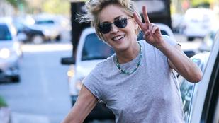 A Playboy az éhhaláltól mentette meg Sharon Stone-t