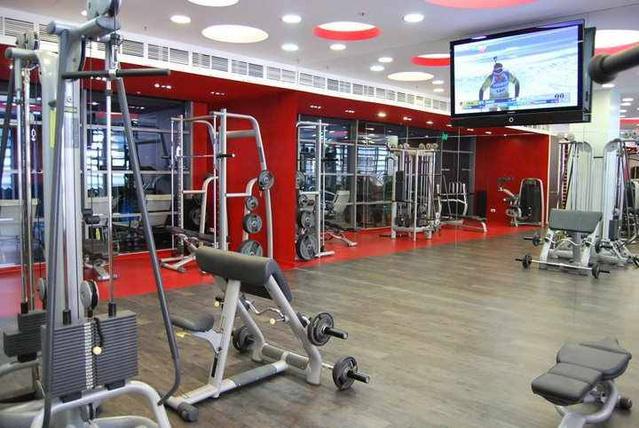 Bliss & Body fitnesz és wellness központ: jól berendezett terem