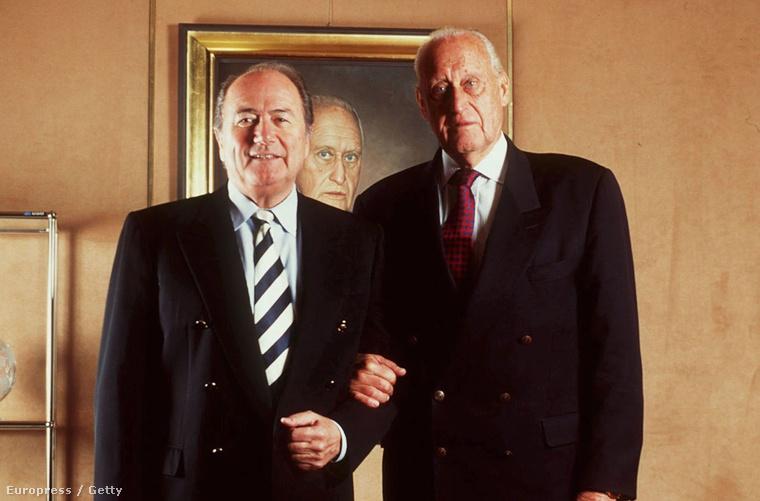 Blatter Joao Havelange oldalán még 1997-ben