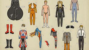 Öltöztesse David Bowie-t!