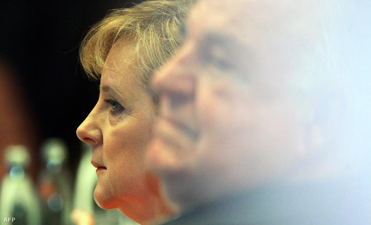 Angela Merkel és Helmut Kohl 2005-ben