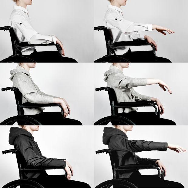A tervező figyelembe vette a kerekes székesek szokásait.