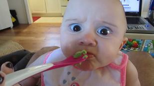 Heti cuki: a bébi és az avokádó első találkozása