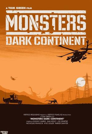 Monsters Dark Continent by Matt Ferguson