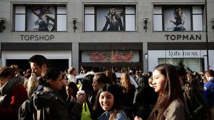 Angliában már nem menő a H&M és a Topshop