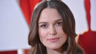 Keira Knightley-nak lánya született