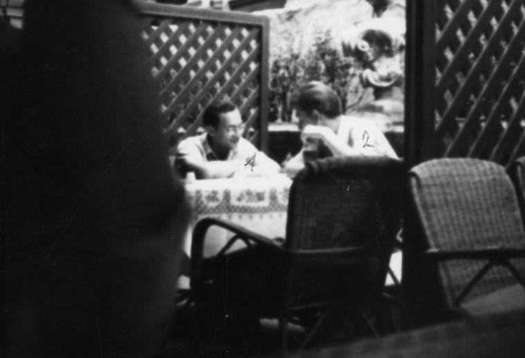 Kárpátia étterem, 1960. augusztus 26. - megfigyelési fotó