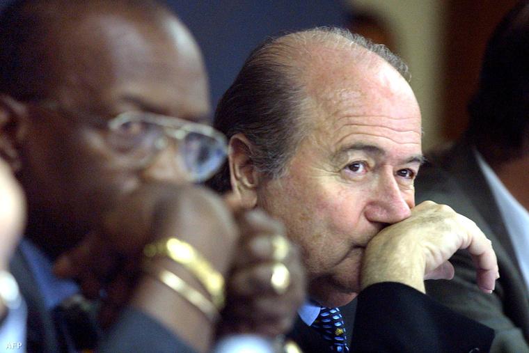 Jack Warner és Joseph Blatter