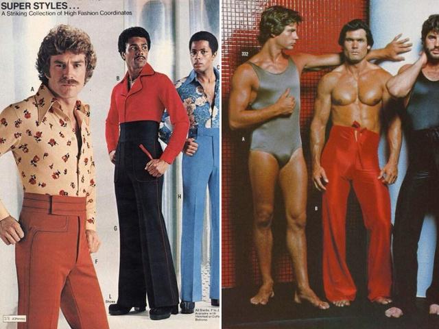 A hetvenes években a férfiak is hordtak magasított derekú nadrágot, ahogy az egyrészes fürdőruha sem volt ciki akkoriban.