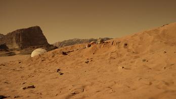 Lélegzetelállító A marsi első előzetese