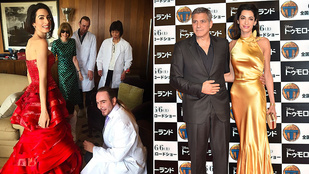 John Galliano pasija öltözteti Amal Clooneyt