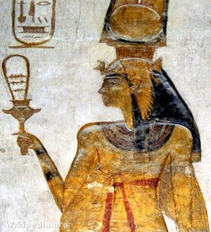 Nefartari, II. Ramszesz felesége szisztrummal