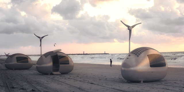 A sátorozás puszta gondolatától is idegenkedő természetkedvelőknek nyújthat kiváló alternatívát a szlovák építésziroda, a Nice Architects legújabb innovációja.