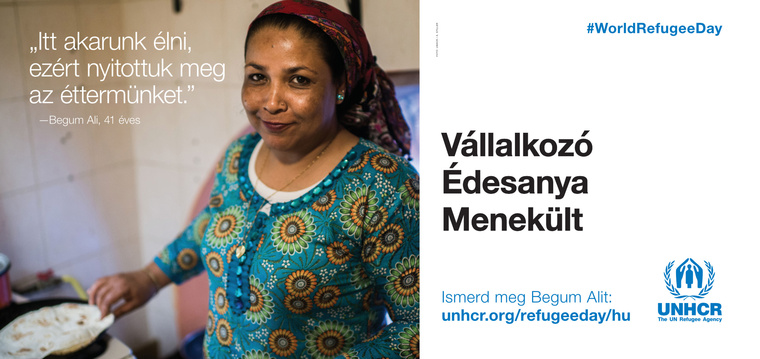 UNHCR billboard 50,4x23,8cm plakatok hu LEAD-2b
