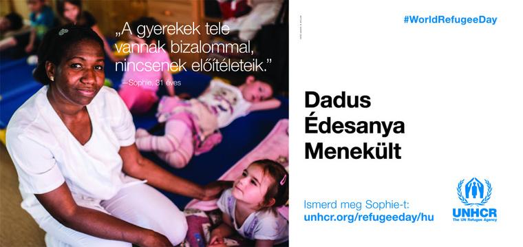 UNHCR billboard 50,4x23,8cm plakatok hu LEAD-1