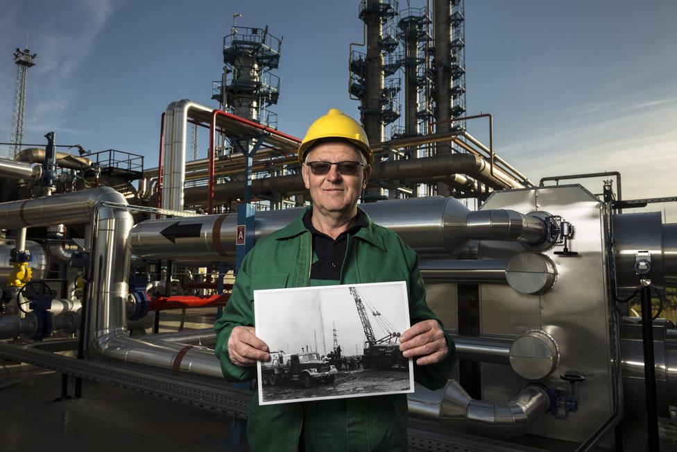 Deák Antal jelenleg műszaki ellenőr, már 44 éve dolgozik az olajiparban. Déri is igazi mérnökalkatként emlékszik vissza rá.