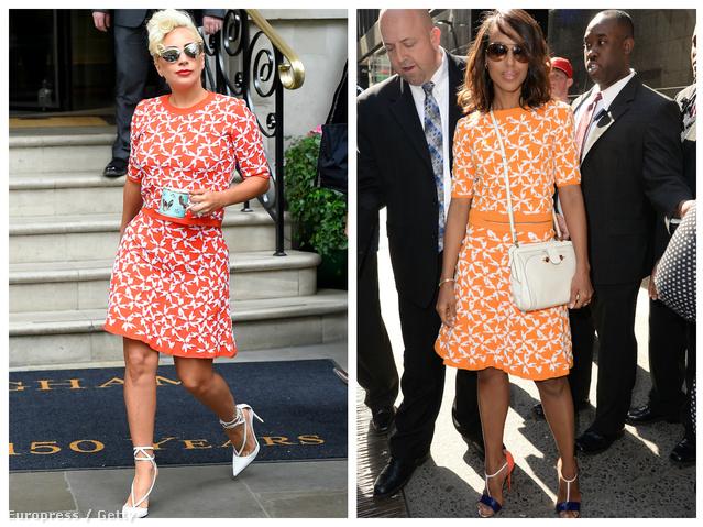 A végére egy-egy mintás szett maradt, az elkövetők pedig Lady Gaga és Kerry Washington.