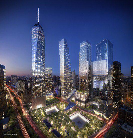 A World Trade Center egykori helyére több ütemben adják át az újabb épületeket. Az archdaily.com nemrég megerősítette a pletykát, miszerint a BIG fejlesztésének (WTC 2) negyedik és egyben utolsó felhőkarcolóját a dán sztárépítész, Norman Foster tervezi majd.