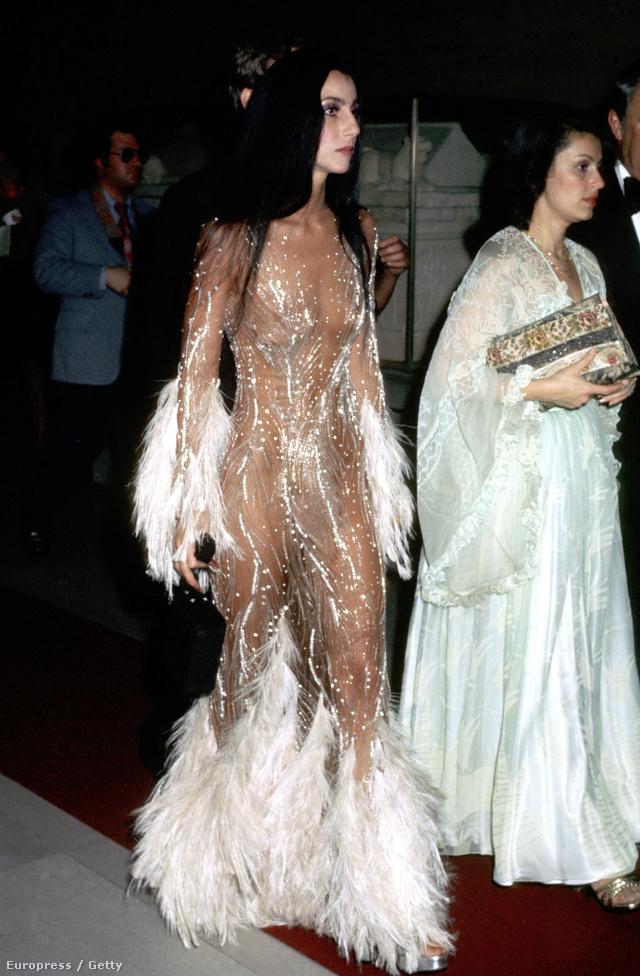 Cher pedig már 1974-ben ilyen cuccokban járt.