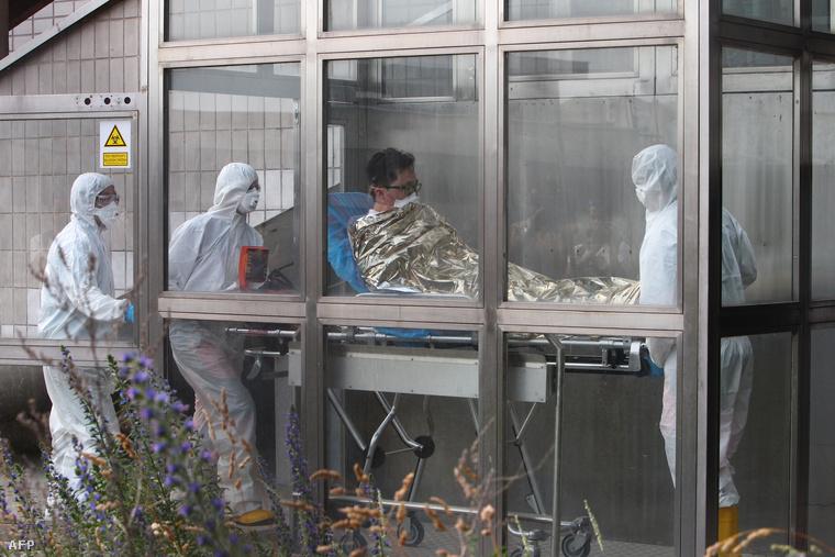 MERS gyanús KIA dolgozót szállítanak a Pozsonyi Kramare kórházba