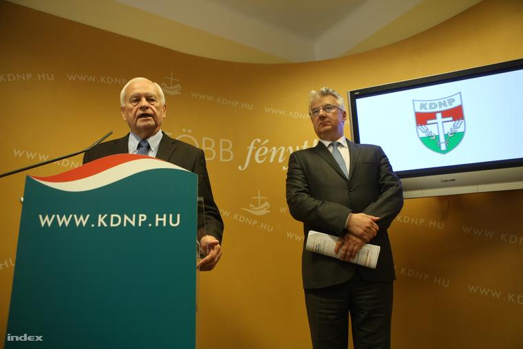 Harrach Péter és Semjén Zsolt