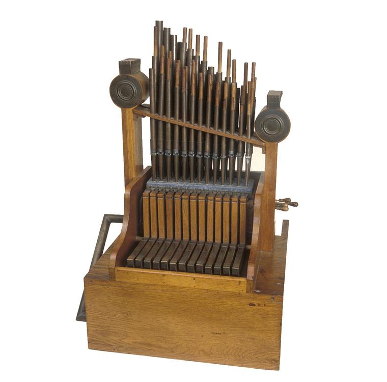 Az aquincumi orgona 1935-ben készült rekonstrukciója